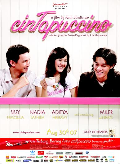 cintapuccino poster