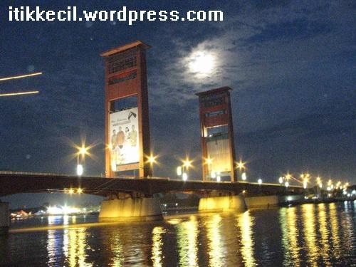 Jembatan Ampera tahun 2007