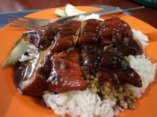 duck rice alias nasi bebek