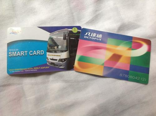 Octopus Card dibandingkan dengan smartcard Transmusi. Semoga suatu saat akan berfungsi sama seperti Octopus Card.