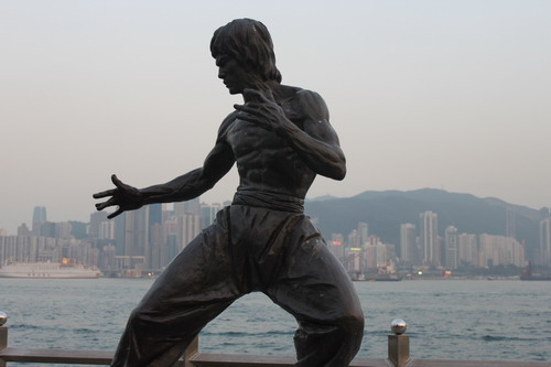 Bruce Lee... tempat foto sejuta umat