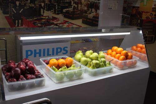 Dan ini contoh lighting di supermarket
