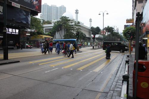 Tsim Sha Tsui di pagi hari