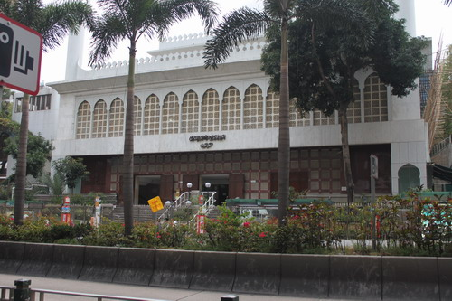 Kowloon Mosque, deket banget dengan hostel