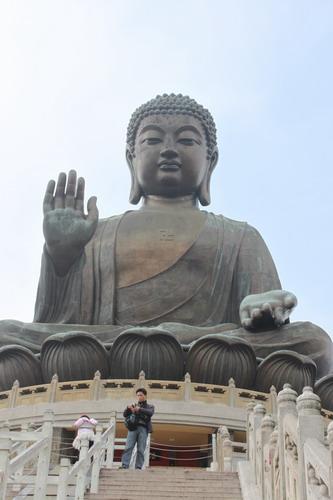 Hello giant Buddha...