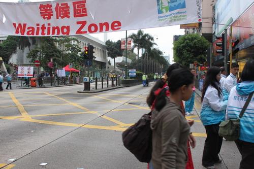 Pagi hari di Tsim Sha Tsui