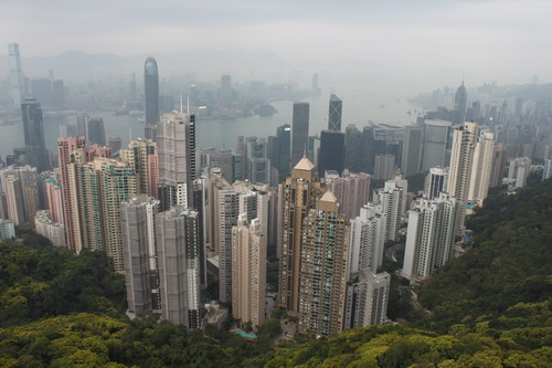 Hong Kong from the top