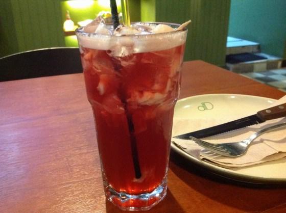 lychee ice tea - sekitar 20 ribuan.