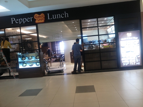 Pepper Lunch Palembang Indah Mal