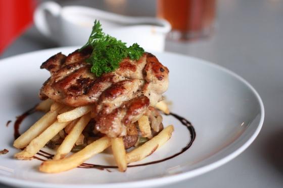 Chicken steak - IDR 35 K