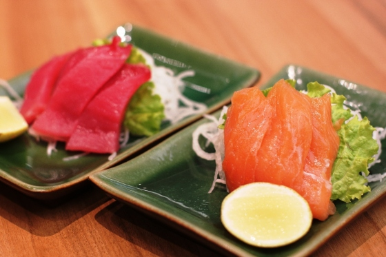 sake sashimi - Rp. 38.000,-