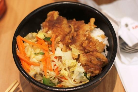 chicken teriyaki rice - Rp. 21.000,-