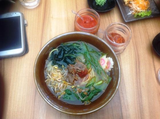 spicy ramen - Rp. 37.000,-