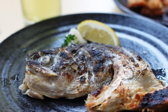 salmon head shio (half) - rp. 48.000,-