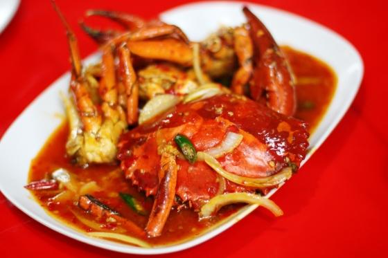 kepiting saus padang ~ IDR 62.000,-