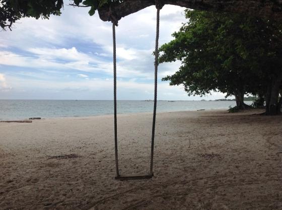 pantainya bersih ya..
