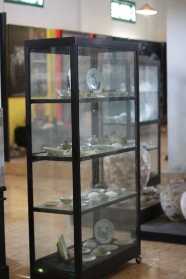 benda-benda di museum belitung