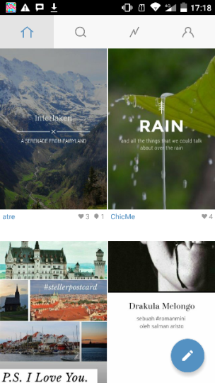 Steller on Android