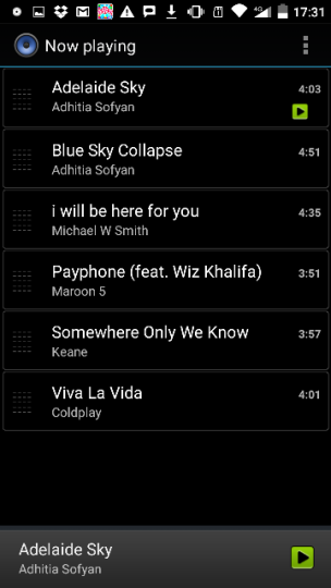my playlist