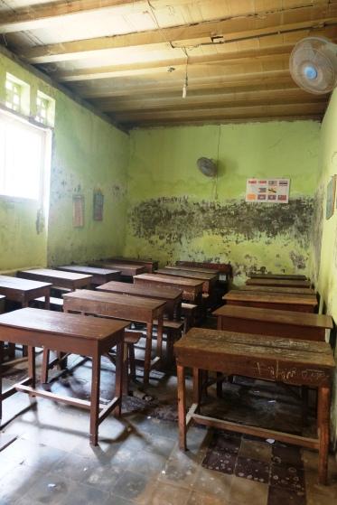 Ruangan kelasnya