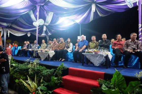 Tamu VIP Pembukaan Musi Triboatton 2016