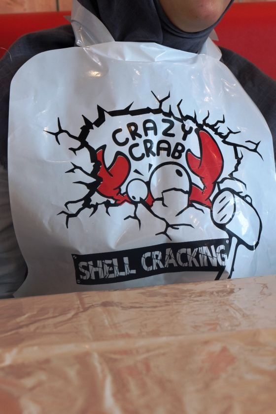 celemek crazy crab.