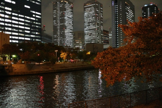Night Landscape - Osaka